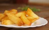 Cách làm khoai tây chiên giòn lâu không bị ngấm mỡ