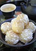 Chế biến món ăn từ củ sắn: bánh củ sắn đỗ xanh mát lành