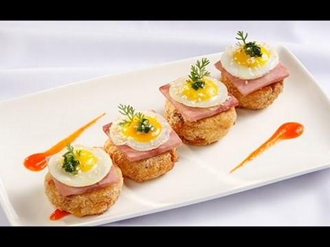 Video Clip: Cách làm bánh sắn trứng cút ăn là mê