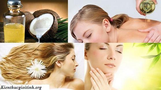 Cách làm đẹp da từ dầu dừa Dưỡng trắng làm đẹp da từ dầu dừa Chắc hẳn chị em phụ nữ không ai là không ao ước mình được sở hữu một làn da trắng mịn, căng tràn