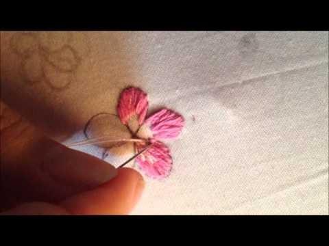 Video clip: Hướng dẫn học thêu tay truyền thống hình hoa