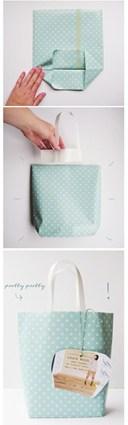 Cách làm túi giấy bảo vệ môi trường cực xinh xắn