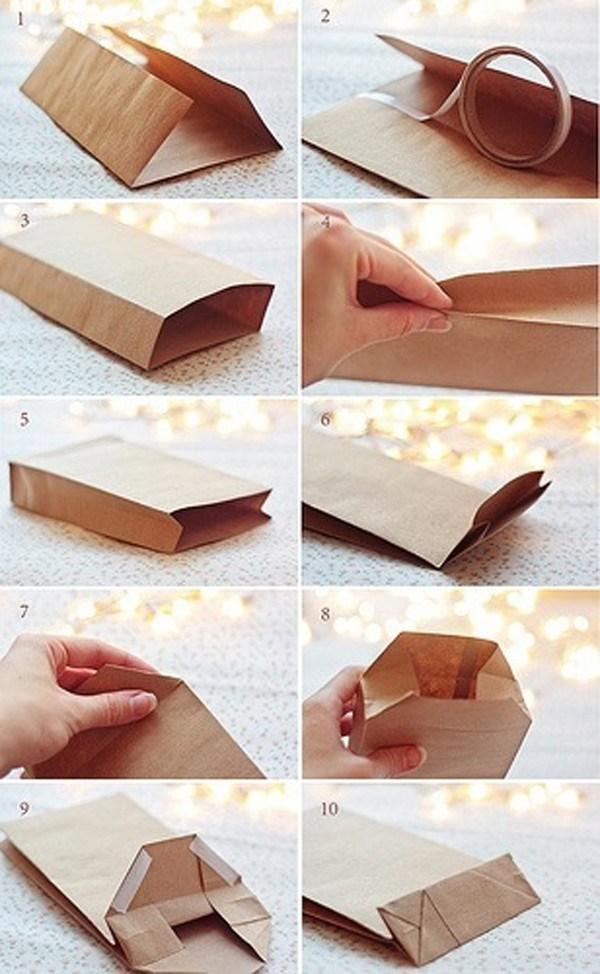 Как сделать пакетик из бумаги своими руками поэтапно