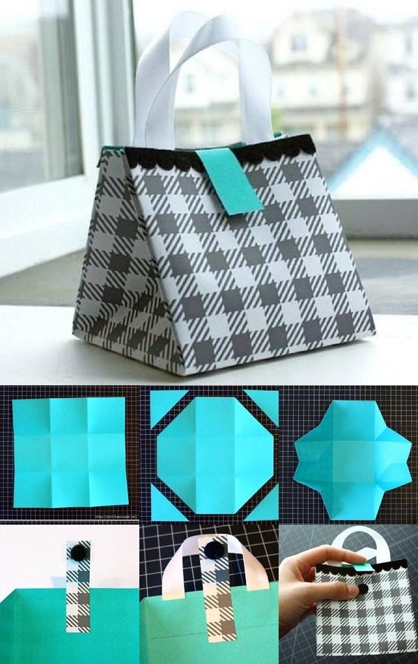 Cách làm túi giấy bảo vệ môi trường hình