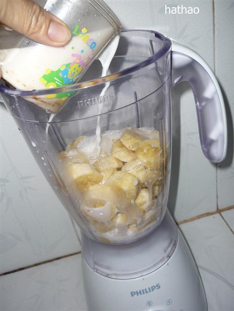 Cách làm kem chuối ngon