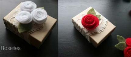 Cách làm hoa hồng handmade