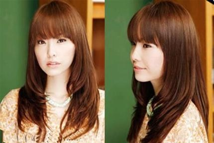 Chọn kiểu tóc phù hợp với khuôn mặt tròn