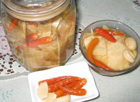 Cách làm măng chua ngon
