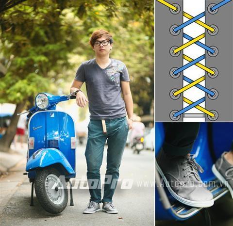 Các cách thắt dây giày chuẩn làm nổi bật style riêng của bạn