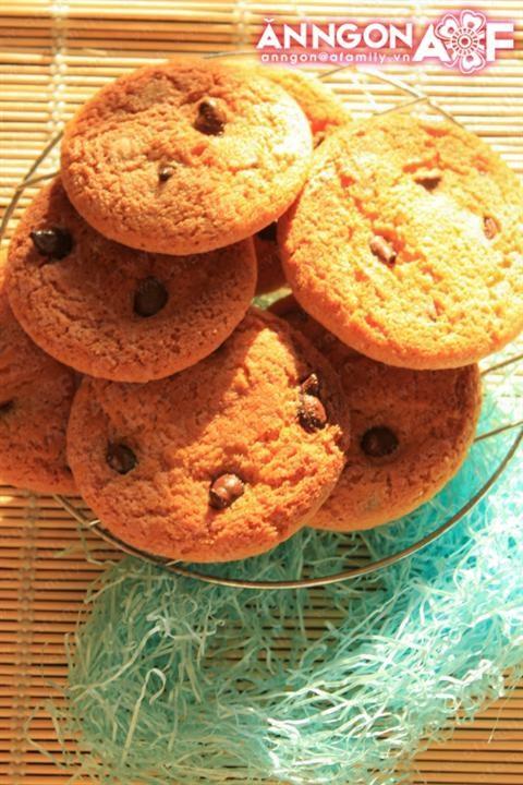 Cách làm bánh quy socola hấp dẫn cả nhà