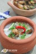 Cách nấu cháo ếch Singapore thơm lừng