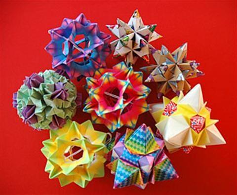 Nghệ thuật gấp giấy Origami hoa
