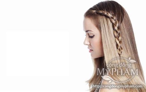 Những kiểu tóc tự làm đơn giản