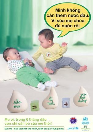 Có nên cho trẻ sơ sinh uống nước