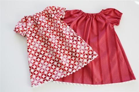 Tự may quần áo cho bé yêu