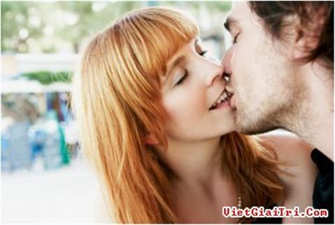 Những kiểu hôn đàn ông thích nhất