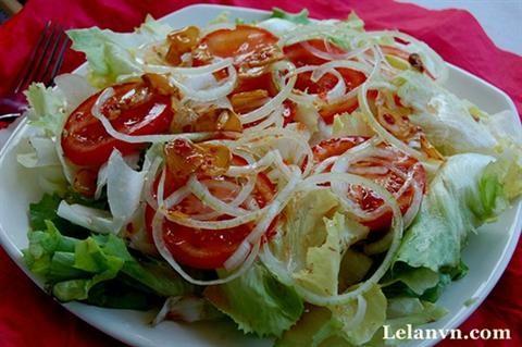 Salad trộn dầu giấm hấp dẫn