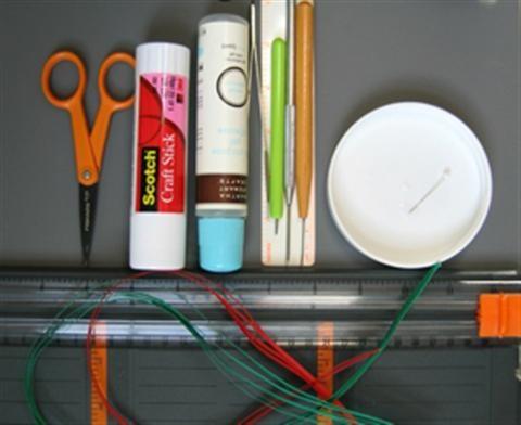 Cách làm thiệp giấy cuộn