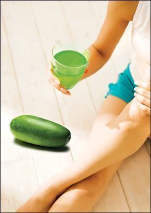 Uống nước bí đao giảm cân hiệu quả
