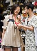 Phối hợp quần áo và giày dép phong cách Hàn Quốc