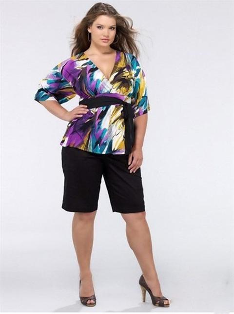 Bí quyết mặc đẹp dành cho người béo
