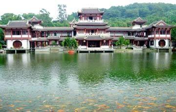 Những cảnh đẹp ở Nam Ninh Trung Quốc đắm chìm trong thiên nhiên. Tuy có nhiều công trình hiện đại mới xây dựng, nhưng Nam Ninh – thủ phủ của Khu tự trị