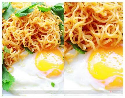 Cách làm mì xào trứng tuyệt ngon cho bữa sáng