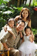 Khương Thịnh và vợ con