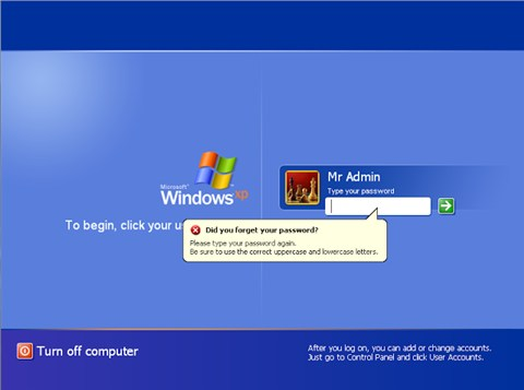 Cách xóa password trong windows 7