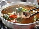 Cách nấu lẩu cá lăng măng chua cực ngon