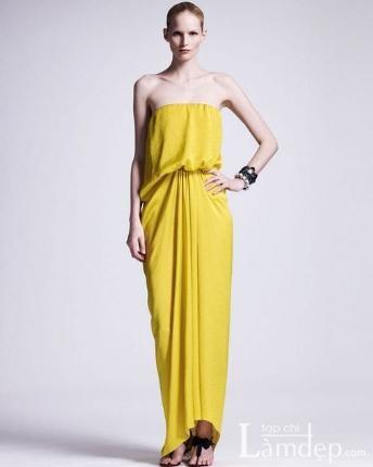 Các kiểu váy quây khoe vòng một vô cùng gợi cảm