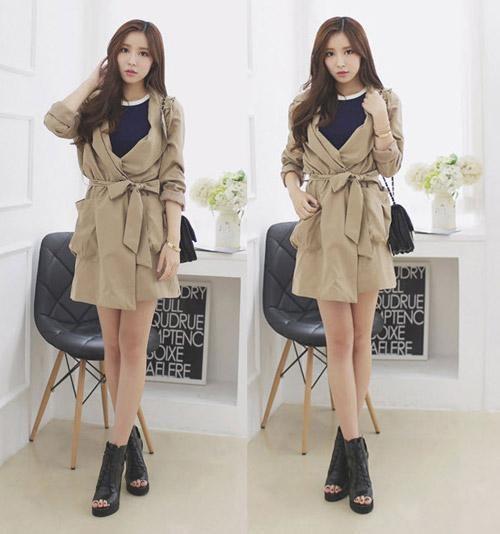 Các kiểu áo khoác nữ đẹp, sành điệu trong mùa lạnh
