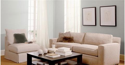 Trang trí nhà màu trắng xám tinh tế và trang nhã