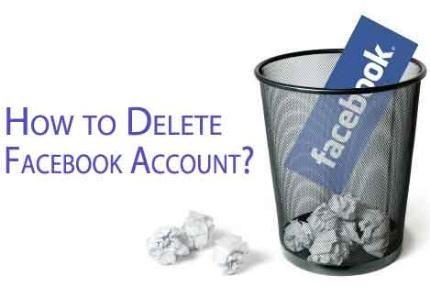 Hướng dẫn hủy nick Facebook