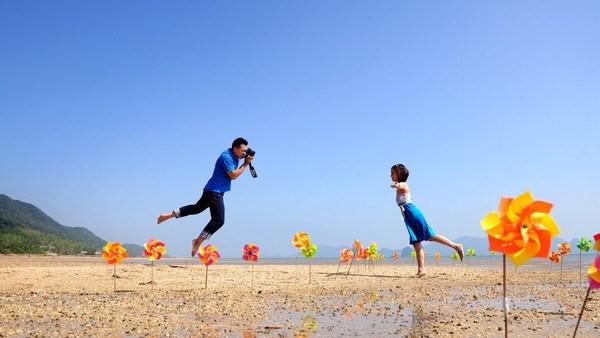 Chụp ảnh cưới kiểu Hàn Quốc lộng lẫy đáng yêu