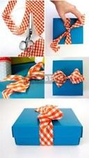 Làm nơ gói quà bằng vải cực đẹp