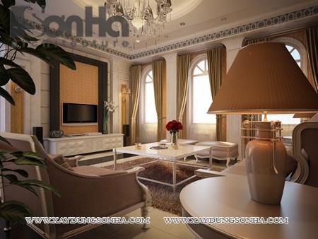 Các căn phòng theo phong cách cổ điển thường trang trí bằng những tông màu nhẹ và trầm. Tất cả đều tạo nên một không gian nhã nhặn mà thanh thoát, yên bình
