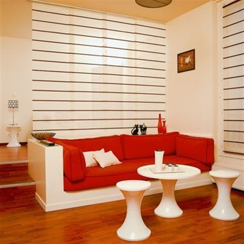 Nội thất phòng khách kết hợp với phòng ngủ cho không gian hẹp