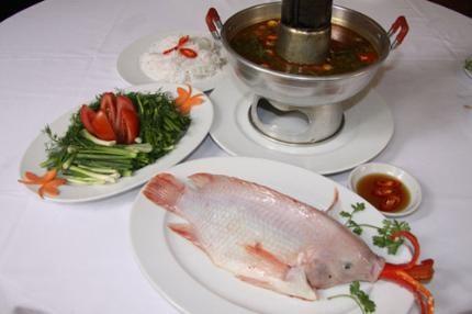 Công thức nấu lẩu cá điêu hồng hấp dẫn