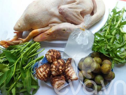 Thịt vịt nấu với rau gì hợp nhất?