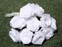 Cách làm hoa hồng bằng ruy băng đơn giản cực đáng yêu
