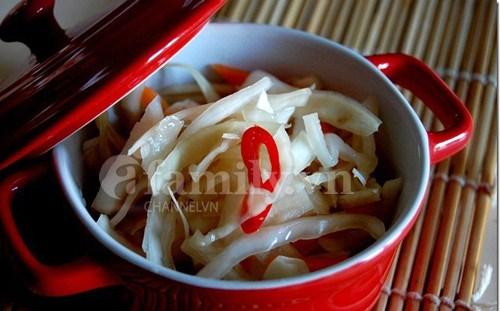 Cách làm dưa bắp cải muối xổi chua dịu ngon miệng thêm vị chua ngon cho bữa ăn ngon. Cách làm mon dưa bắp cải muôi xổi thơm ngon dưới đây để bạn áp dụng