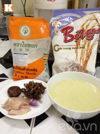 Hướng dẫn làm bánh từ bột gạo với nhiều loại bánh khác nhau