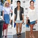 Mặc đẹp với váy jean ngắn cực cá tính mà không sợ lỗi mốt