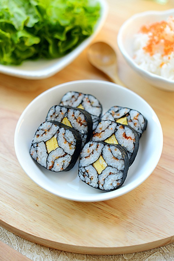 Hướng dẫn làm sushi trứng đơn giản dễ làm