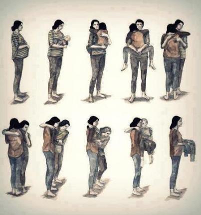 Những hình ảnh đẹp về mẹ và tình mẫu tử cảm động rơi nước mắt