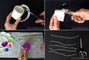 Cách trang trí ống hút cực thú vị và sáng tạo