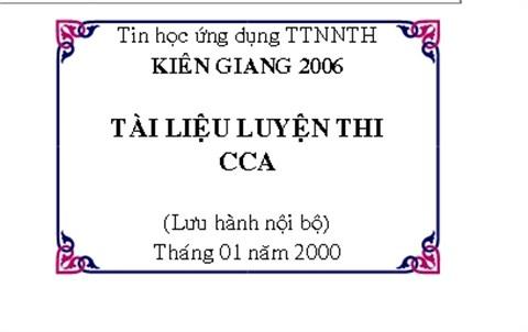 Cách trang trí khung bìa trong word 2007 chuyên nghiệp nhất