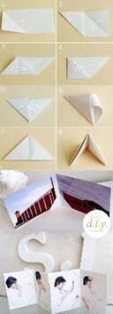 Cách gấp khung ảnh bằng giấy cực xinh yêu