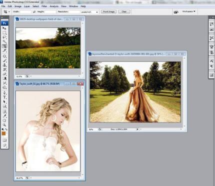 Cách chỉnh sửa và ghép ảnh trên photoshop đẹp lung linh